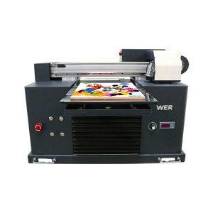 automatyczna drukarka na płaskiej obudowie uv z 6 kolorowym drukiem