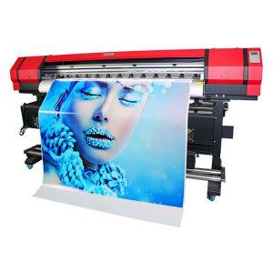 Wysoka dokładność wielkoformatowa drukarka atramentowa z podwójną głowicą drukującą dx7 świetna cena