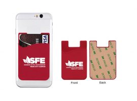 Klejące portfele na telefony komórkowe