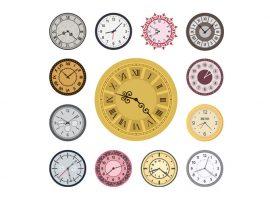 Twarze zegara