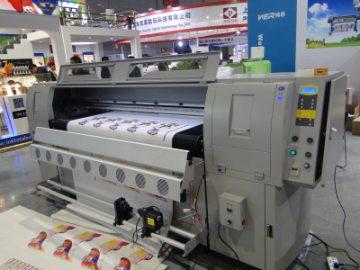 Skórzana maszyna drukarska