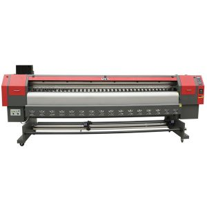 drukarka wielkoformatowa z naklejki z winylu i rozpuszczalnika